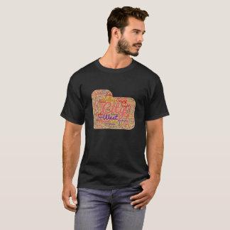 Utah Cities And Town Word Cloud Tshirt