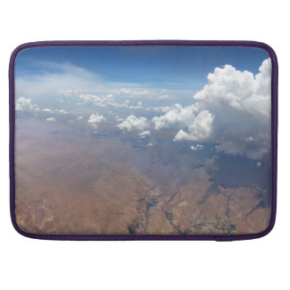 Utah Cloudscape from 36,000 Feet Sleeve For MacBooks