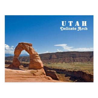 Utah Delicate Arch Postcard