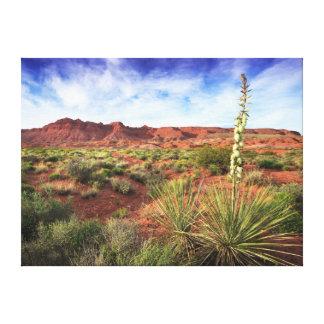 Utah Desert Yucca Canvas Print