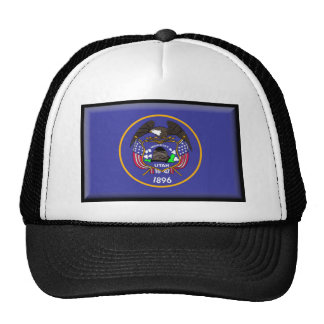 Utah Flag Mesh Hats