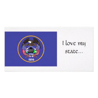 Utah Flag Photo Cards