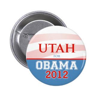 UTAH for Obama 2012 6 Cm Round Badge