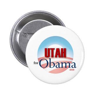 UTAH for Obama 6 Cm Round Badge