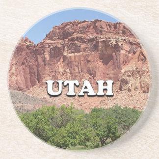 Utah: Fruita, Capitol Reef National Park, USA Beverage Coasters