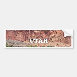 Utah: Fruita, Capitol Reef National Park, USA Bumper Sticker
