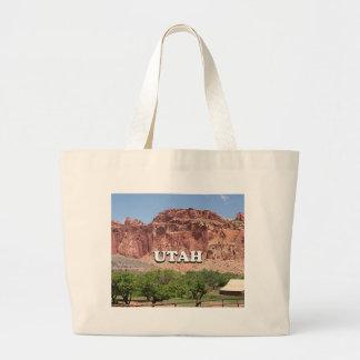 Utah: Fruita, Capitol Reef National Park, USA Large Tote Bag