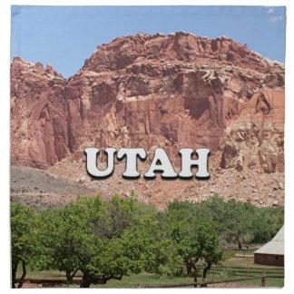 Utah: Fruita, Capitol Reef National Park, USA Napkin