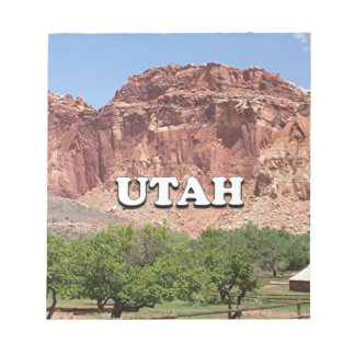 Utah: Fruita, Capitol Reef National Park, USA Notepad