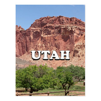 Utah: Fruita, Capitol Reef National Park, USA Postcard