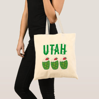 UTAH Green Gelatin Dessert Parfait Foodie Food Tote Bag