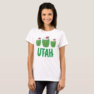 UTAH Green Gelatin Dessert Parfait Strawberry Food T-Shirt