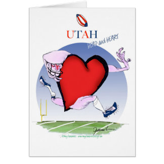 utah head heart, tony fernandes card