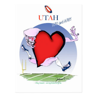 utah head heart, tony fernandes postcard