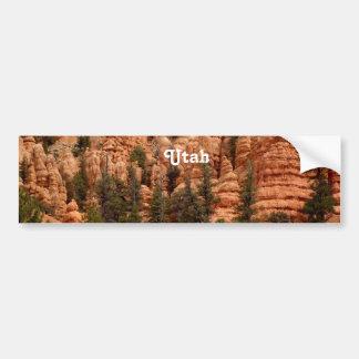 Utah Landscape Bumper Sticker