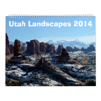 Utah Landscapes 2014 Calendars