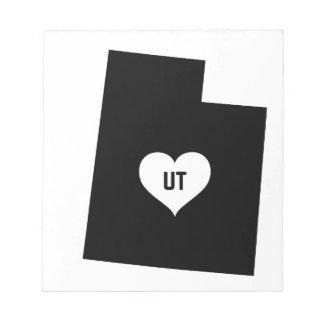 Utah Love Notepad