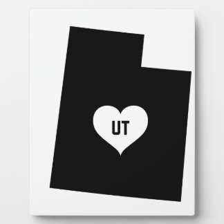Utah Love Plaque