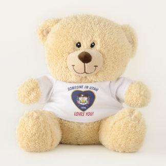 Utah Loves You Teddy Bear