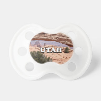 Utah: Mesa Arch, Canyonlands National Park, USA Baby Pacifiers