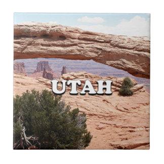 Utah: Mesa Arch, Canyonlands National Park, USA Ceramic Tile