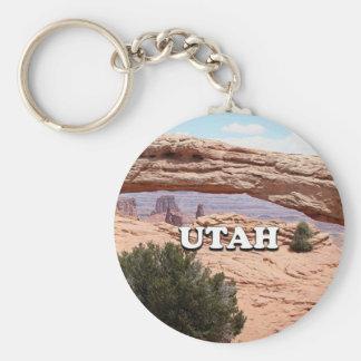Utah: Mesa Arch, Canyonlands National Park, USA Key Ring