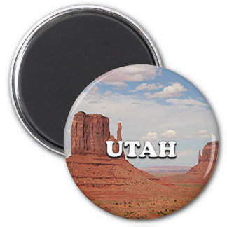 Utah: Monument Valley, USA Magnet