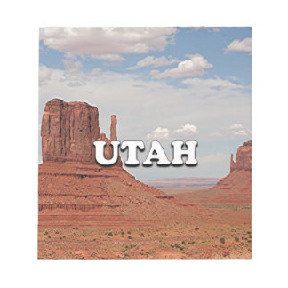 Utah: Monument Valley, USA Notepad