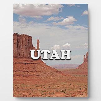 Utah: Monument Valley, USA Photo Plaque