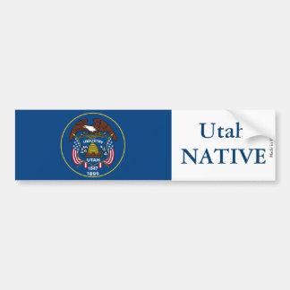 Utah Native Bumper Sticker