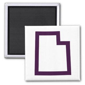Utah (Purple) Magnet