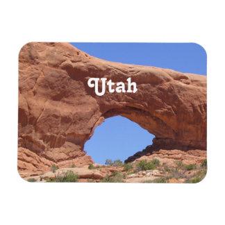 Utah Red Rock Rectangular Photo Magnet