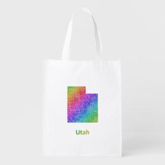 Utah Reusable Grocery Bag