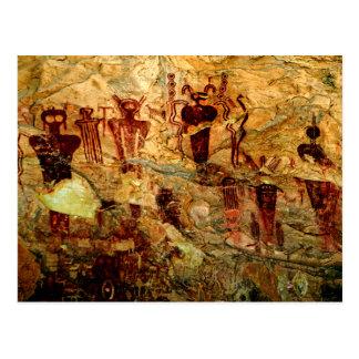 Utah Rock Art Postcard