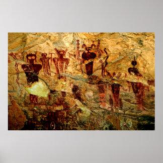 Utah Rock Art Poster