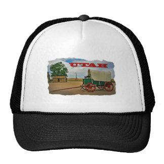 Utah rustic stagecoach trucker hats