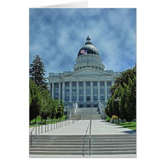 Utah State Capitol Card