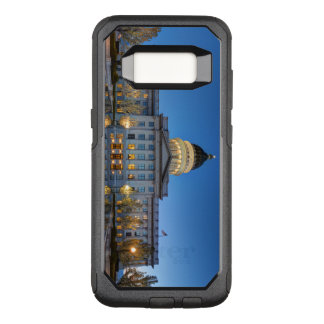 Utah State Capitol In Reflecting Fountain At Dusk OtterBox Commuter Samsung Galaxy S8 Case