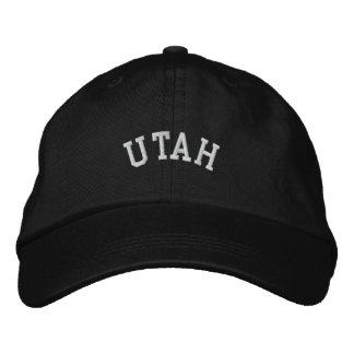 Utah State Embroidered Embroidered Hat