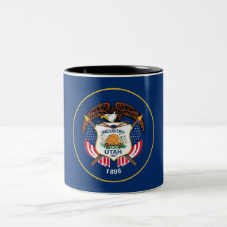 Utah State Flag Two-Tone Coffee Mug