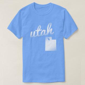 Utah state in white T-Shirt