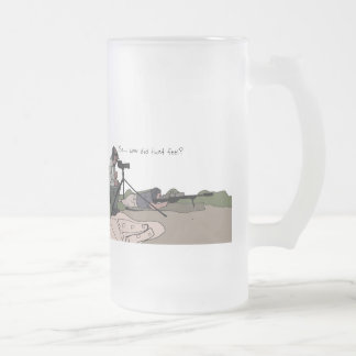 Utah Tactical Coaching Frosted Glass Beer Mug