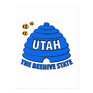 Utah: The Beehive State Postcard