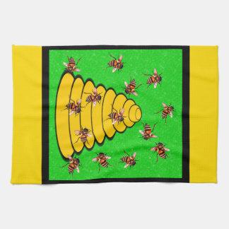 Utah The Beehive State Tea Towel