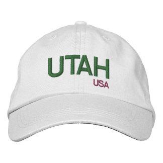 Utah* USA Custom Baseball Cap