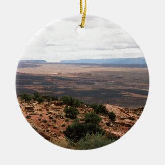 Utah Valley Ceramic Ornament
