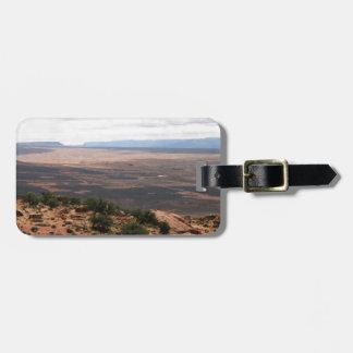 Utah Valley Luggage Tag