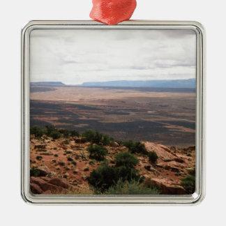 Utah Valley Metal Ornament