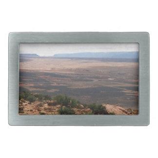 Utah Valley Rectangular Belt Buckles