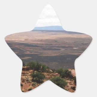 Utah Valley Star Sticker